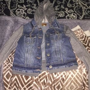 Jean jacket / sweater.